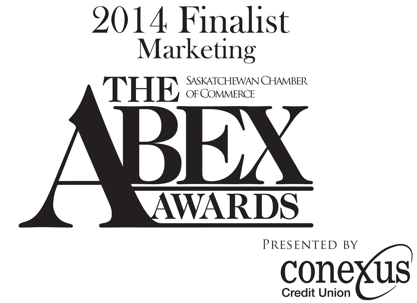 ABEX MARKETING AWARD 2014 Saskatchewan